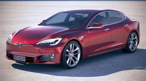 Tesla Model S P100d 2018 3d Model Cgstudio