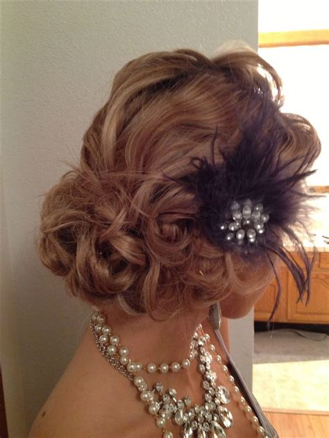 1920 S Pin Up Hairstyles by Vintage 1920 S Updo 1920s Wedding Hair 1920s
