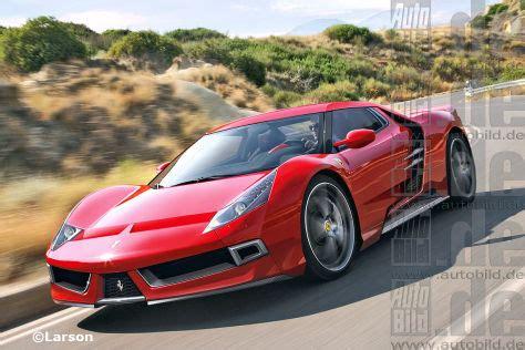 Neue Ferrarimodelle Formel 1 Für Die Straße Autobildde