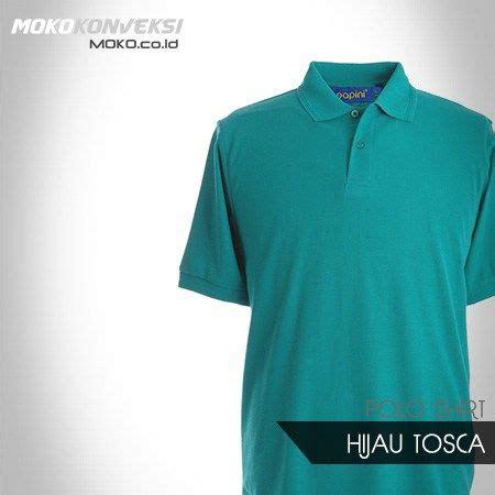 polo shirt polos hijau tosca ready stok konveksi semarang moko kaos polo shirt