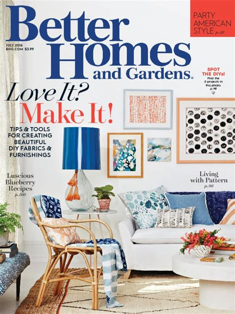 home and garden magazine better homes gardens magazine discountmags