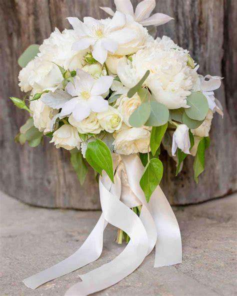 64 White Wedding Bouquets Martha Stewart Weddings