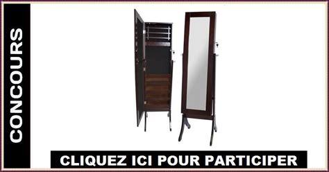miroir coffre a bijoux concours gagnez un miroir coffre 224 bijoux concours en ligne qu 233 bec