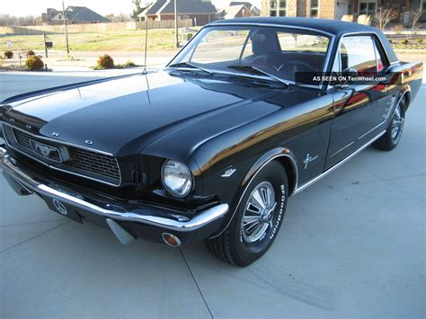 automatic ford mustang 1966 mustang coupe 289 automatic