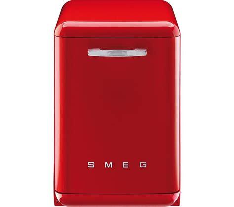 Buy Smeg Df6fabr2 Fullsize Dishwasher  Red Free