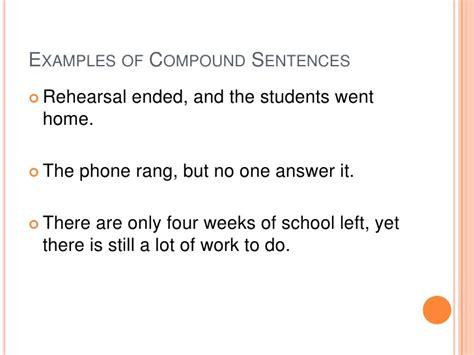 simple complex compound sentences