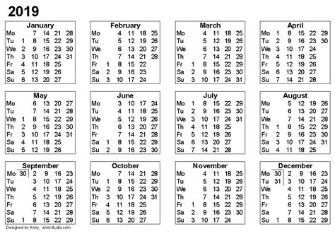 calendar calendar template excel