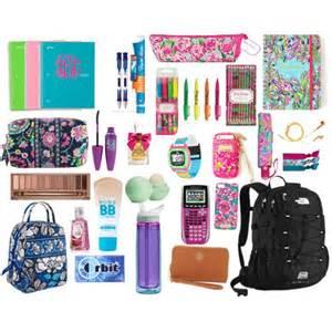 Preppy Back to School Supplies
