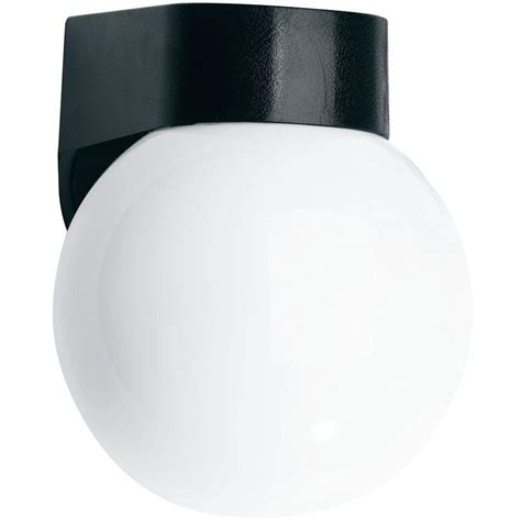 newport coastal black coastal outdoor globe light 7791 03b
