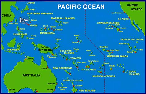 guam yahoo image search results map pacific
