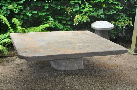 Old Fir And Bluestone Coffee Table From Furniture Classics
