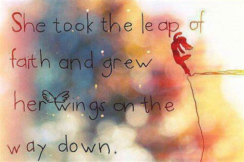 leap  faith  grew  wings