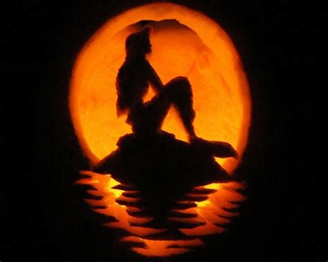 amazing pumpkin templates 35 amazing pumpkin carvings mermaid for the love of mermaids pinterest pumpkin carvings