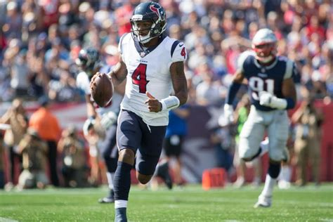 deshaun watson houston texans rookie quarterback shines