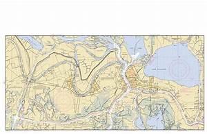 BAYOU BOEUF TO WAX LAKE OUTLET Nautical Chart