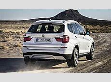 2017 BMW X3 hybrid drivetrain and an M3sourced straight