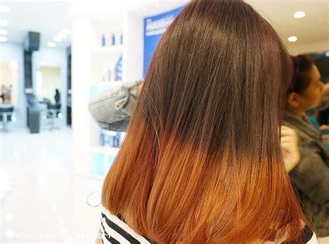 Contoh Warna Rambut Coklat Gelap