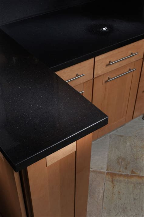 absolute noir quartz counters  marblecitycompany type caesarstone