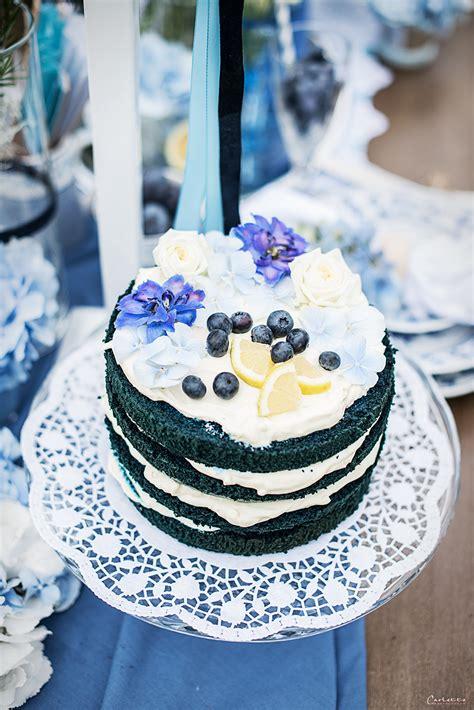 blauer naked cake rezept fuer blaue torte