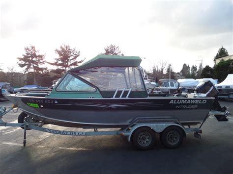 Aluminum Fishing Boats For Sale Portland Oregon by Alumaweld Intruder Boats For Sale In Portland Oregon