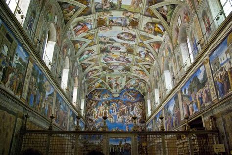 Painted The Ceiling Of The Sistine Chapel In Rome by Michelangelo Sistine Chapel Ceiling History