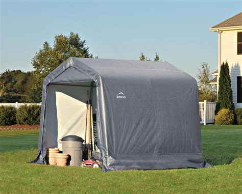 shelter logic shed shelterlogic 8 x 8 instant storage shed canopy 70423