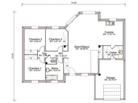 modele cuisine contemporaine construction maison individuelle contemporaine avenir de 94 m2