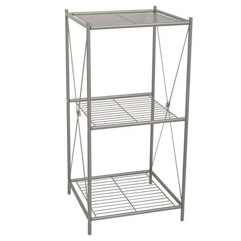zenith cross style    floor stand rack  satin