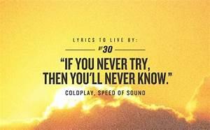 """Speed of Sound,"" Coldplay lyrics | Lyrics of Life ..."