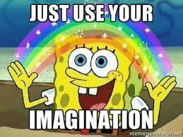 Imagination is the best weapon images Spongebob ...