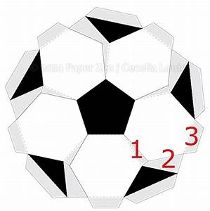 Paper Zen  3d Soccer Ball Birthday Card