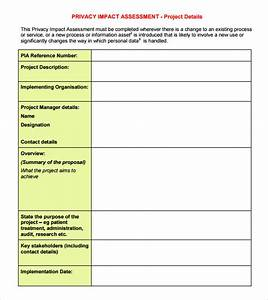 Free 8  Sample Impact Assessment Templates In Pdf