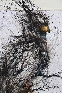 Artist Creates Amazing  U2018splatter Paint U2019 Portraits