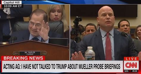 WATCH: Acting AG Matthew Whitaker Refuses to Answer Rep ...