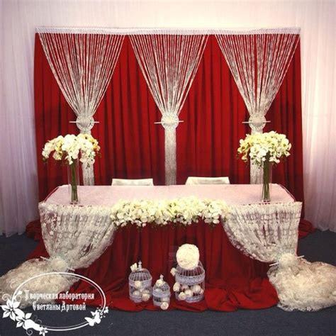 Wedding Decorations Backdrop Head Tables wedding Ideas