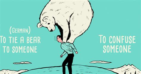 language idioms taken literally in these hilarious cartoony illustrations