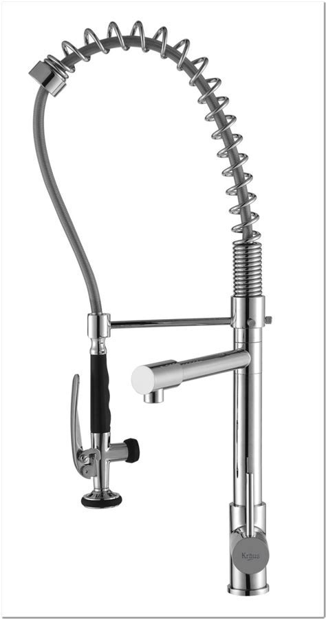 Glacier Bay Commercial Pull Down Faucet   Sink And Faucet