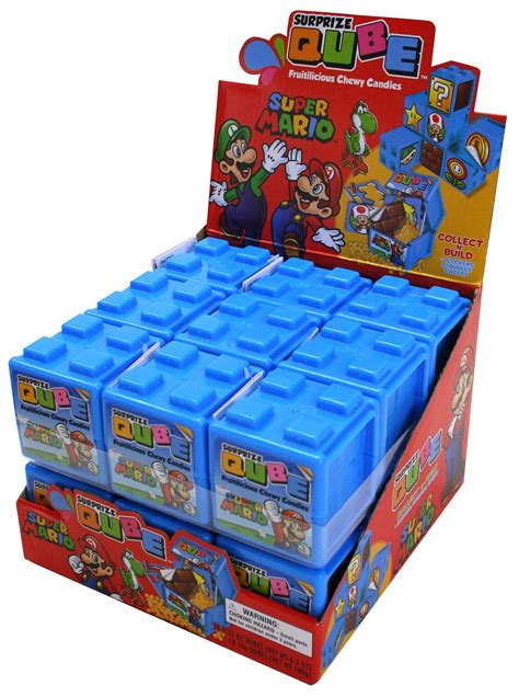 Super Mario Qube | Count Goods | Distributed Items ...