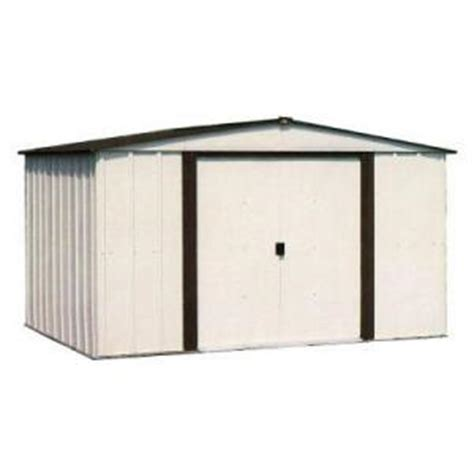 Metal Storage Shed Home Depot by Arrow Newport Storage Shed From Home Depot Storage