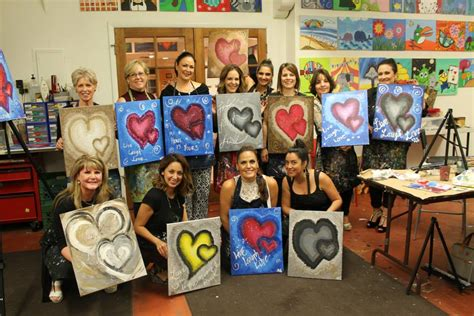 creative juice art bar fun painting classes  tucson