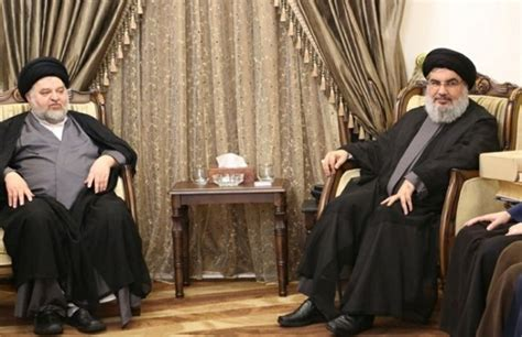Iraq's Top Shiite Clerics Are In Lebanon To Meet With