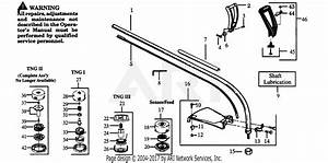 Poulan Gti17t Gas Trimmer Parts Diagram For Drive Shaft