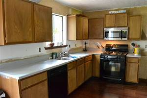 diy paint kitchen cabinets without sanding redone kitchen With kitchen colors with white cabinets with adt security stickers