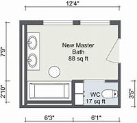 bathroom floor plan Bathroom Layout | RoomSketcher