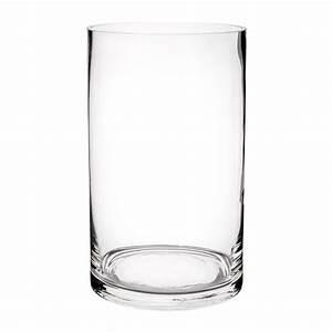 Vase En Verre Pas Cher : vase cylindrique en verre h 20 cm maisons du monde ~ Teatrodelosmanantiales.com Idées de Décoration