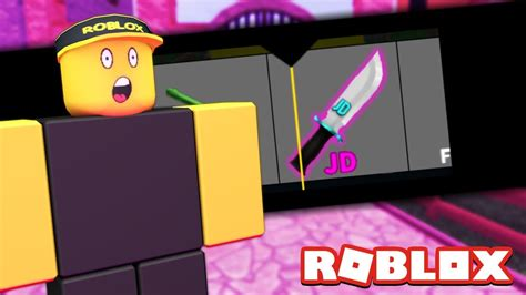 The New Jd Knife In Mm2!