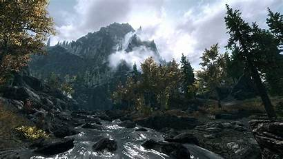 Skyrim Wallpapers Engine Steam Backgrounds Workshop Wallpaperplay