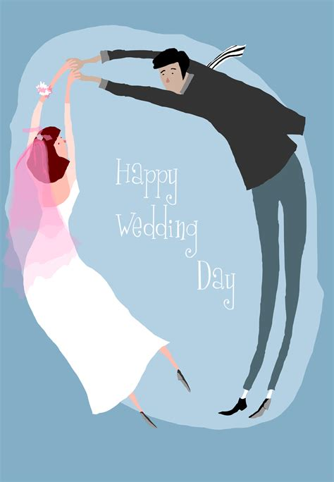 happy wedding day  wedding congratulations card