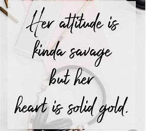 CUTE THINGS TO ... Solid Attitude Quotes
