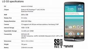 LG G3 makes debut in London, here's the specs ...